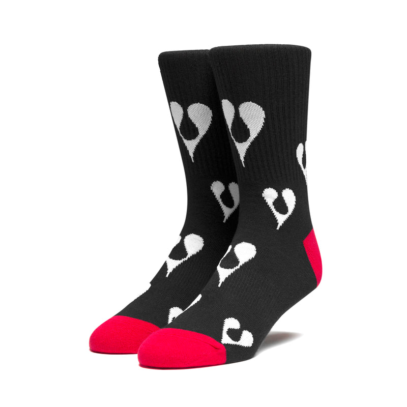 HUF x Phil Frost Socks, Black