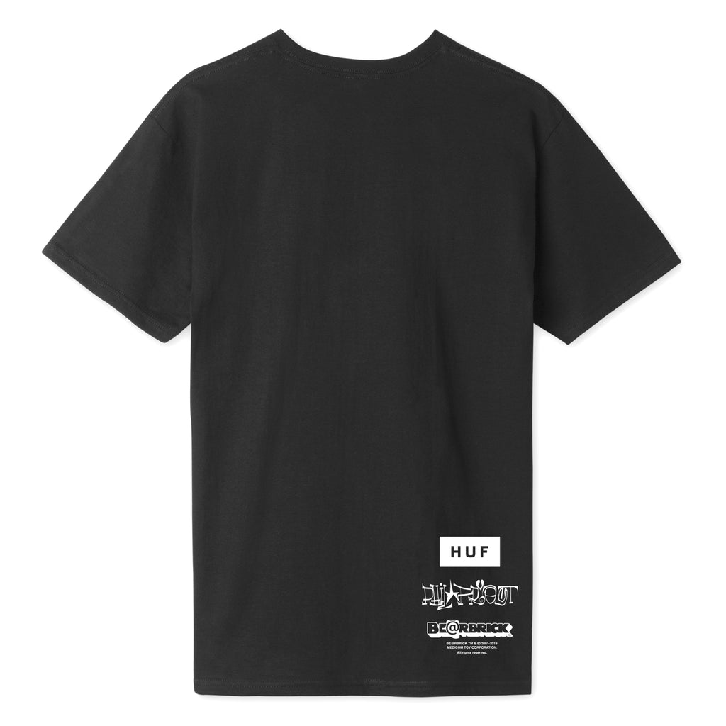 HUF x Phil Frost x Be@rbrick S/S Men's Tee, Black