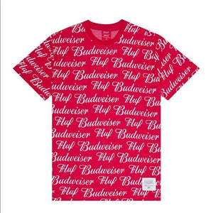 HUF x Budweiser S/S Knit Top, Red