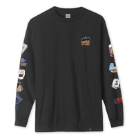 HUF - Bodega Men's L/S Tee, Black