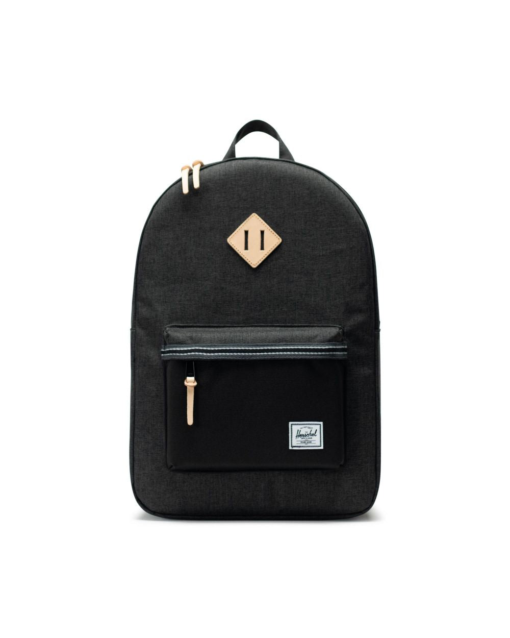 Herschel Supply Co. - Heritage Backpack, Black/Black Crosshatch