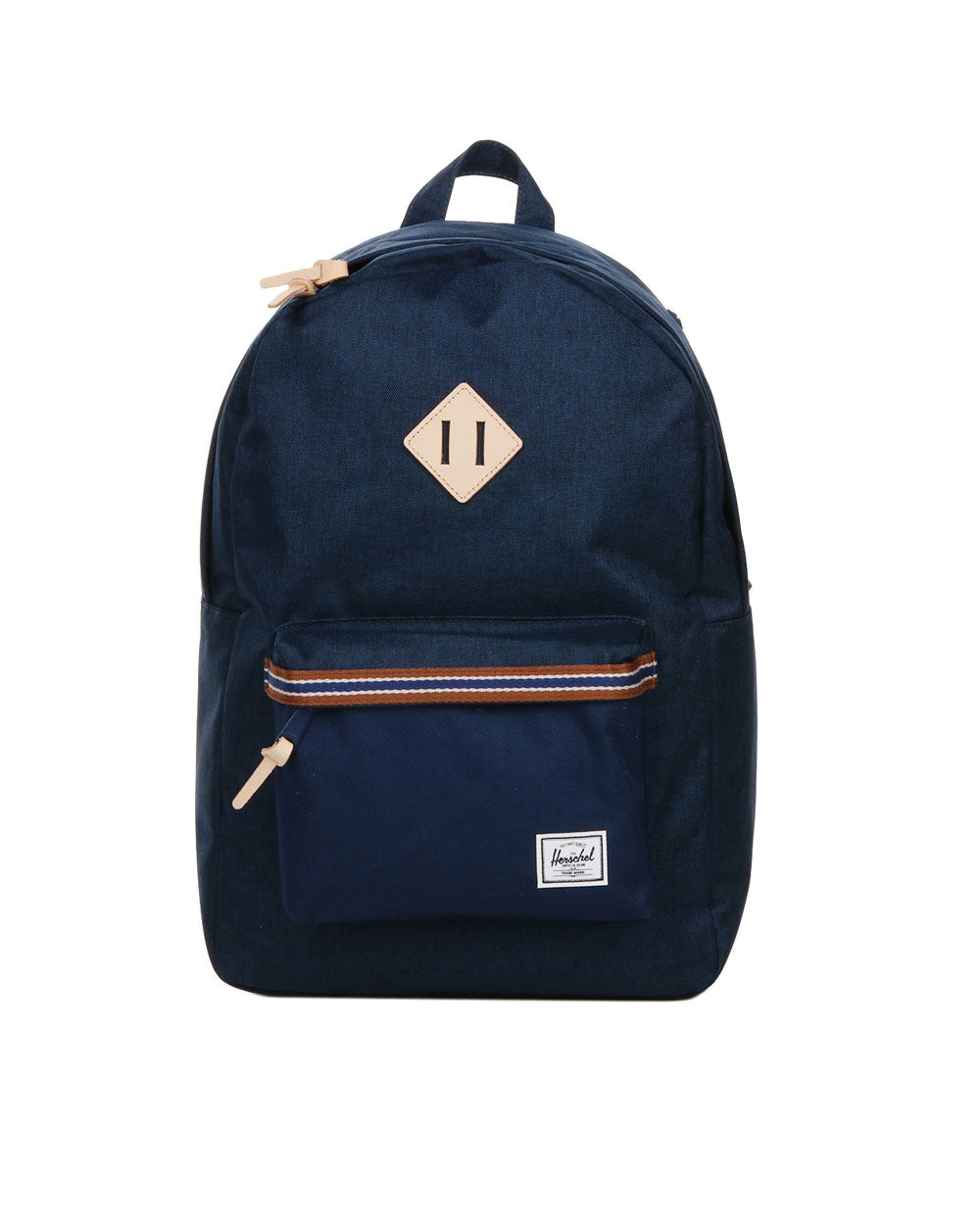 Herschel Supply Co. - Heritage Backpack, Medieval Blue Crosshatch/Medieval Blue