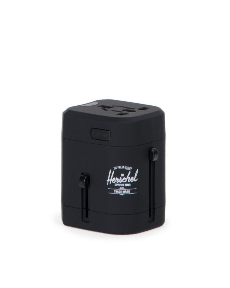 Herschel Supply Co -  Travel Adapter, Black