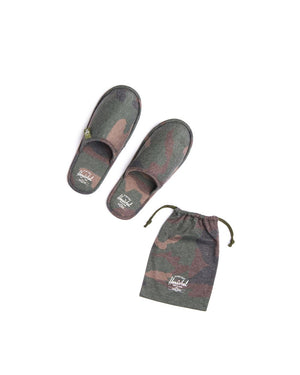 Herschel Supply Co -  Travel Slippers, Camo