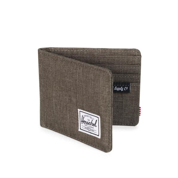 Herschel Supply Co - Roy Wallet, Canteen Crosshatch - The Giant Peach