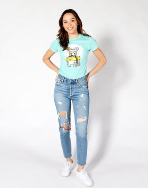 tokidoki x gudetama - Hit The Road Women's Tee, Mint