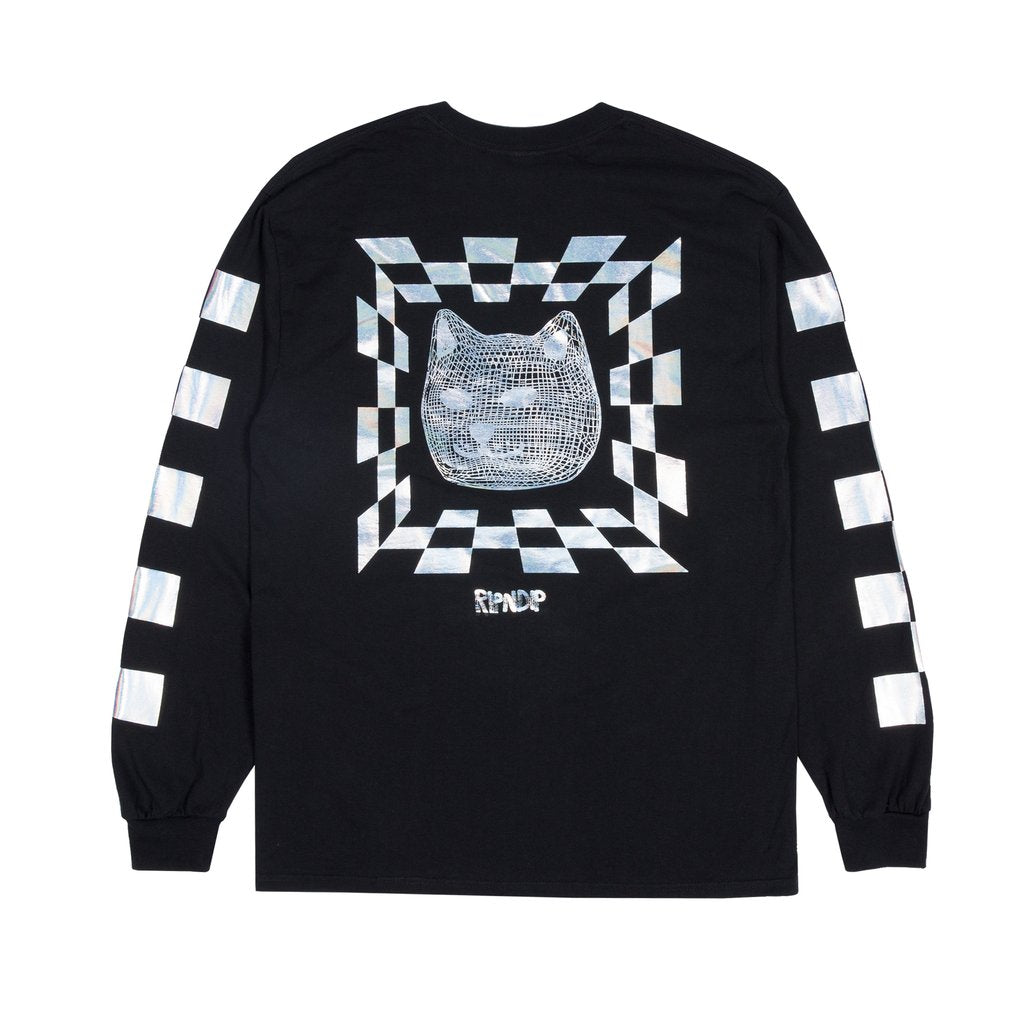RIPNDIP - Illusion Men's L/S Tee, Black