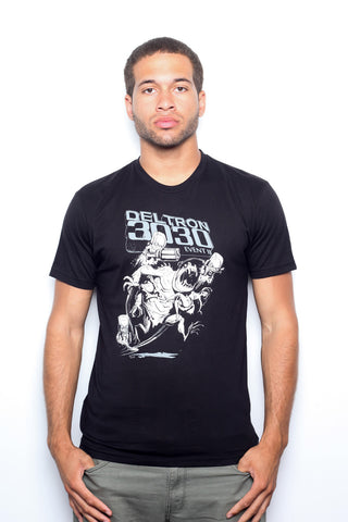 Deltron 3030 - Invasion of the Year Men's Shirt, Black
