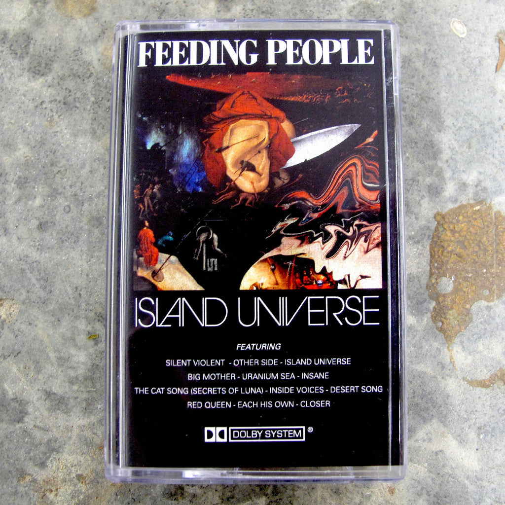 Island Universe - Feeding People, Cassette Tape - The Giant Peach