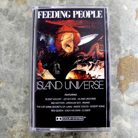 Island Universe - Feeding People, Cassette Tape