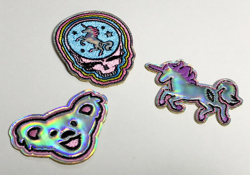 TRiXY STARR X GRATEFUL DEAD - Patch set, holographic