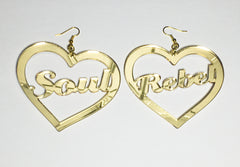 TRiXY STARR - Soul Rebel Earrings, Gold