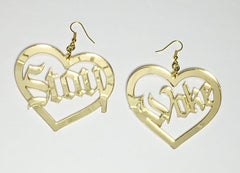 TRIXY STARR- Stay Woke Earrings, Gold