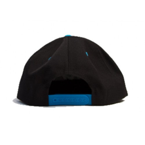 Hieroglyphics - Oakland Snapback Hat, Black/Teal - The Giant Peach - 3