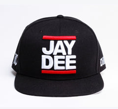 J Dilla - Jay Dee Snapback, Black - The Giant Peach - 1