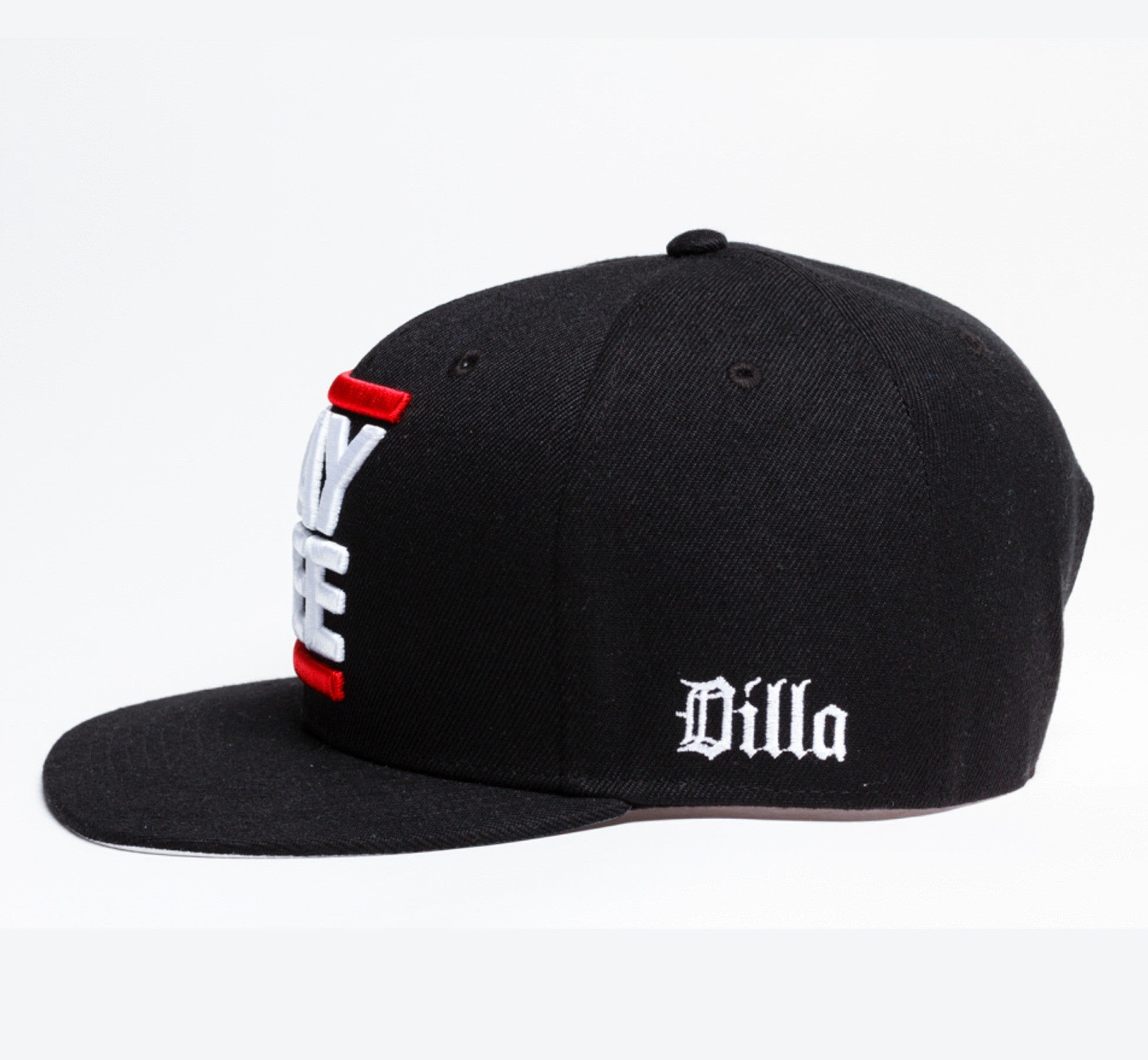 J Dilla - Jay Dee Snapback, Black - The Giant Peach - 3