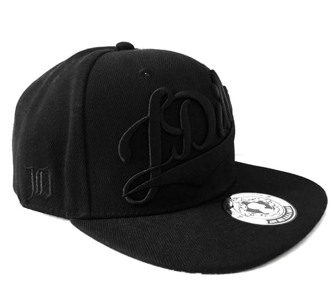 J Dilla - Snapback, Black on Black