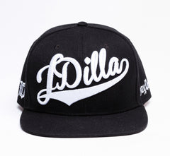 J Dilla - Snapback, White on Black - The Giant Peach - 1