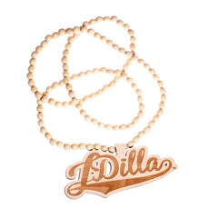J Dilla Wood Chain, Natural - The Giant Peach
