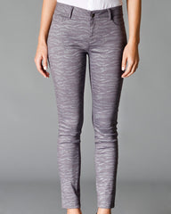 Spirit Animal Skinny Pants, Glittery Grey - The Giant Peach - 4