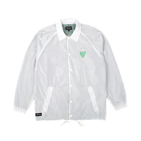 RIPNDIP - Frida Nermal Men's Coaches Jacket, Off White