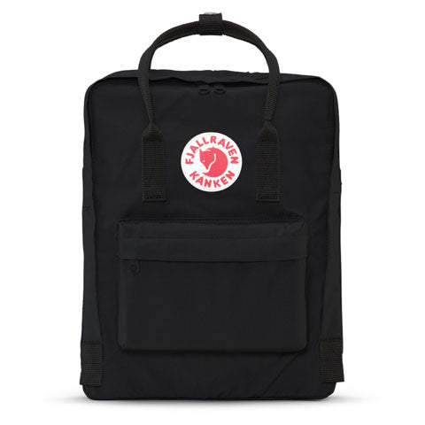 Fjallraven - Kanken Backpack, Black - The Giant Peach