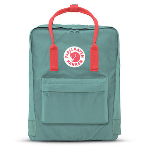 Fjallraven - Kanken Backpack, Frost Green/Peach Pink - The Giant Peach