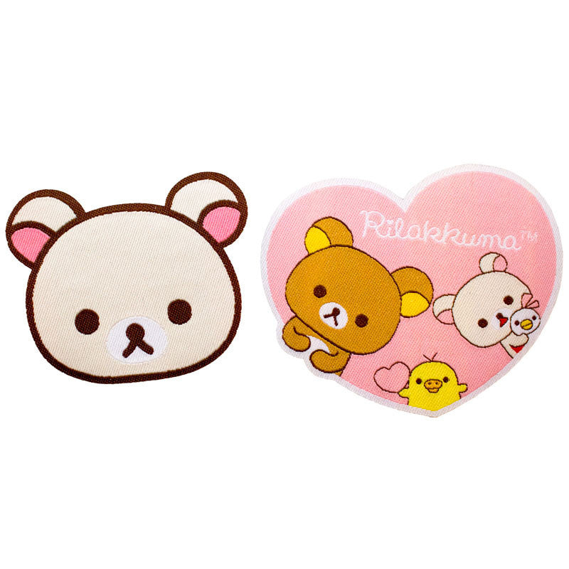 JapanLA - Korilakkuma Iron-On Patch Set - The Giant Peach