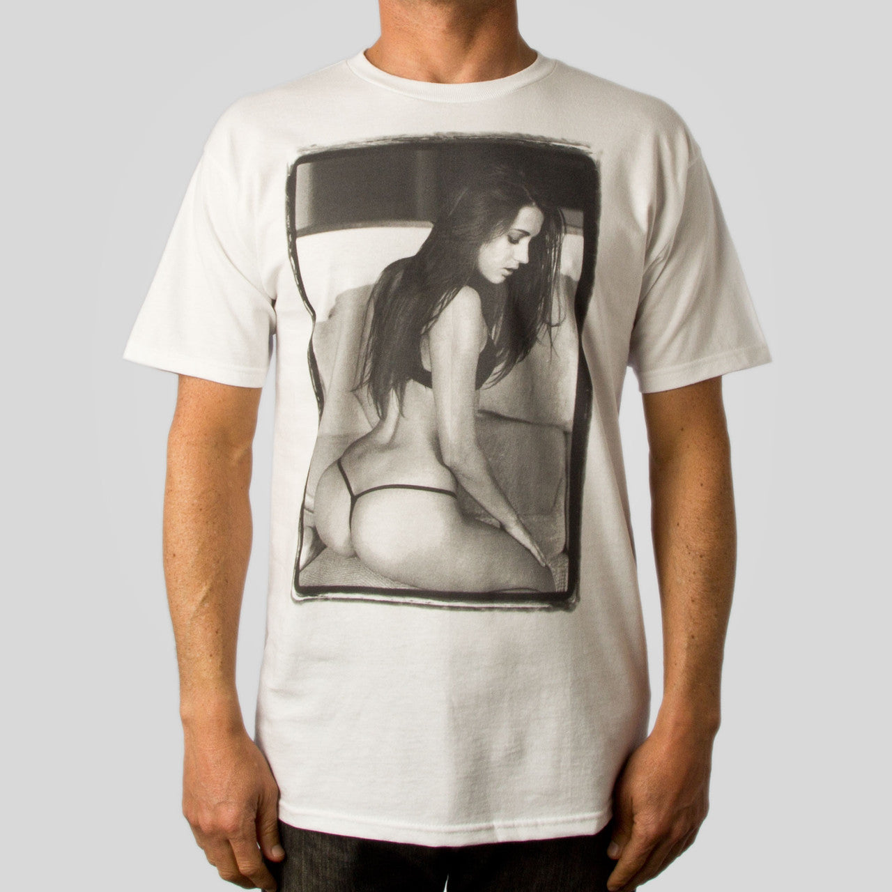 Estevan Oriol - LA Woman 048 Shirt, White - The Giant Peach