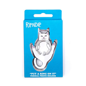 RIPNDIP - Lord Nermal Phone D-Ring, White