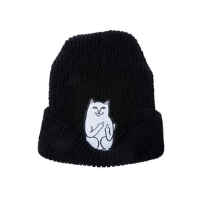 RIPNDIP - Lord Nermal Men's Ribbed Beanie, Black