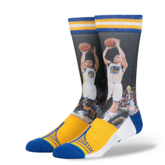 Stance - Curry / Thompson Men's Socks, Blue - The Giant Peach