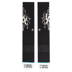 Stance - Mister Cartoon 25th Men's Socks, Black