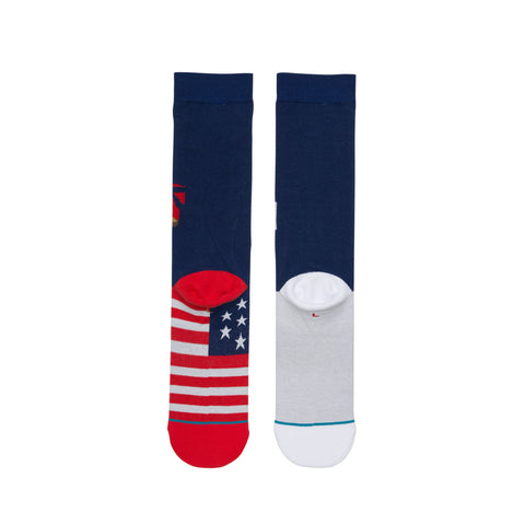 Stance x Street Fighter II - RYU vs KEN Men's Socks, Navy