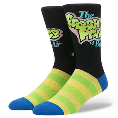 Stance - The Fresh Prince Men's Socks, Black - The Giant Peach