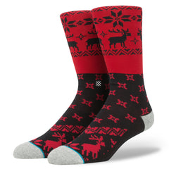 Stance - Blitzn' Men's Socks, Red - The Giant Peach