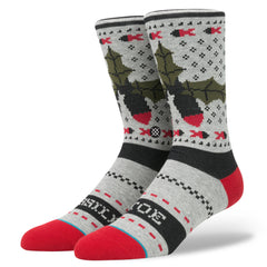 Stance - Missle Toe Men's Socks, Grey - The Giant Peach