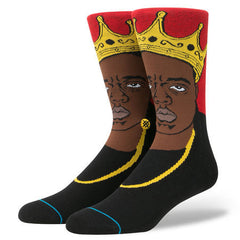 Stance x Biggie - Notorious B.I.G. Men's Socks, Red - The Giant Peach