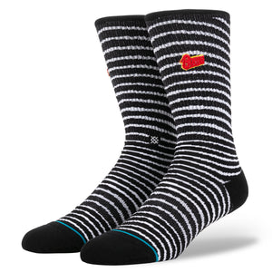 Stance x David Bowie - Black Star Men's Socks, Black
