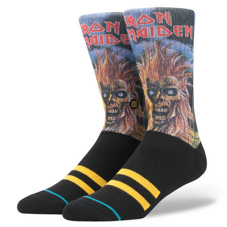 Stance - Iron Maiden Men's Socks, Black