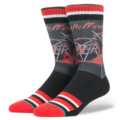 Stance - Slayer Men's Socks, Black - The Giant Peach
