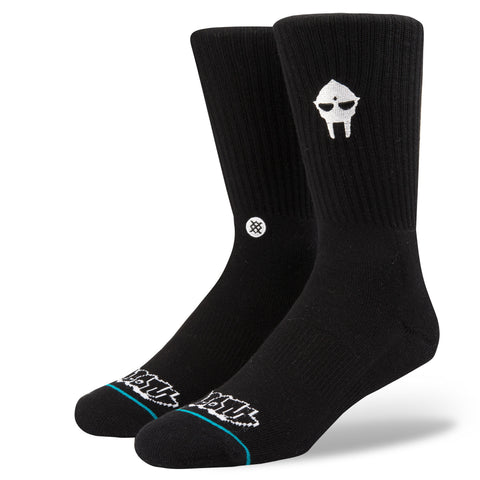 Stance x MF DOOM - DOOM Embroidery Men's Socks, Black