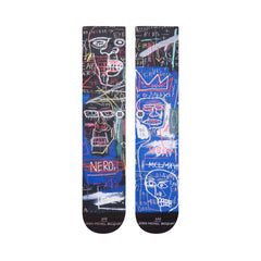 Stance x Basquiat - Anatomy Men's Socks, Black