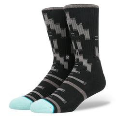 Stance - Chumash Men's Socks, Black - The Giant Peach