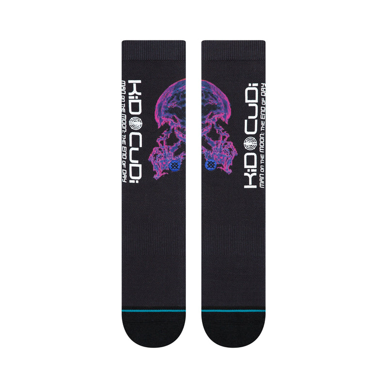 Stance x Kid Cudi Brains Men's Socks, Black