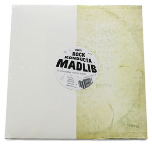 Madlib - Rock Konducta Part One, LP vinyl - The Giant Peach