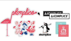 Akomplice - Sticker Pack - The Giant Peach