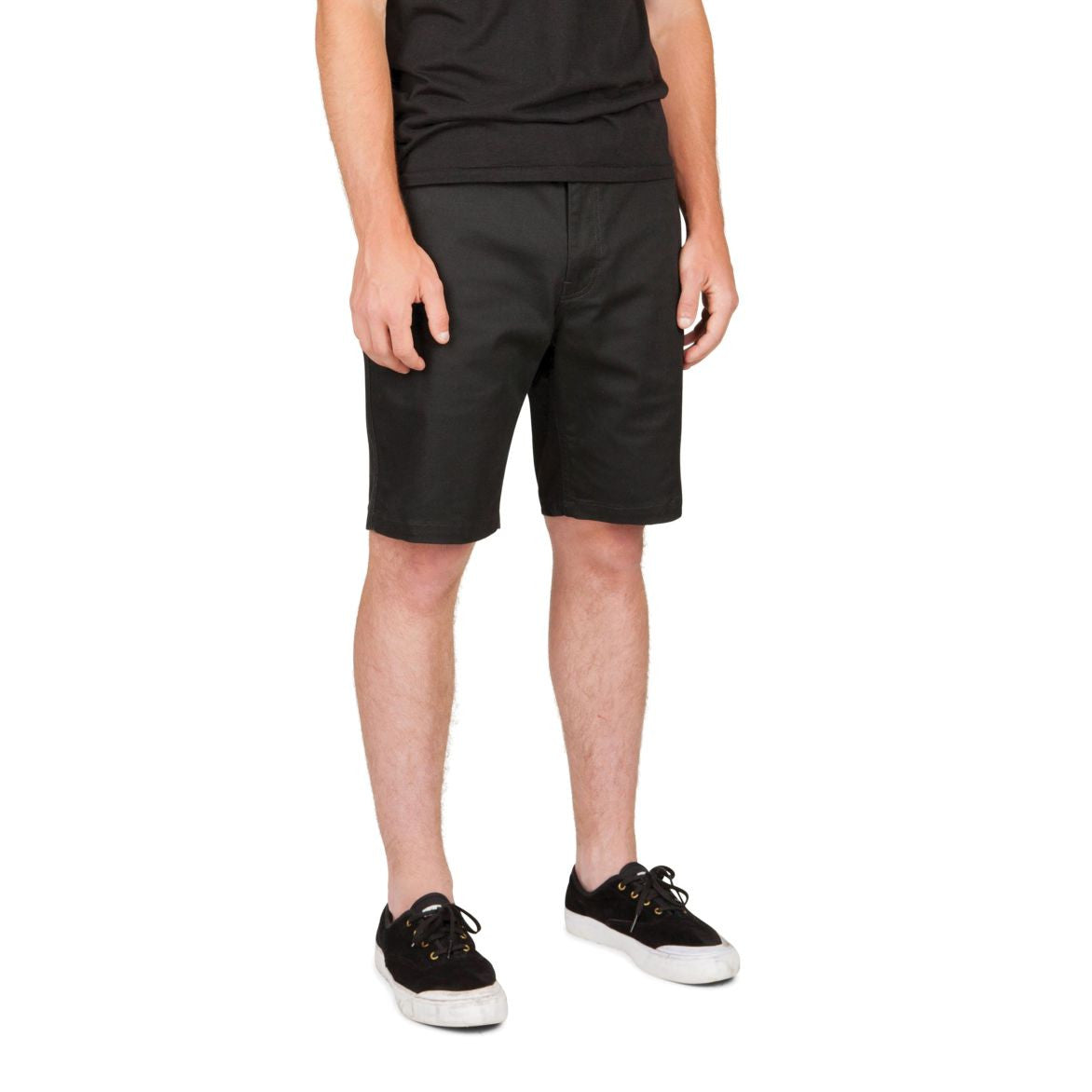 Brixton - Murphy Men's Chino Shorts, Black - The Giant Peach