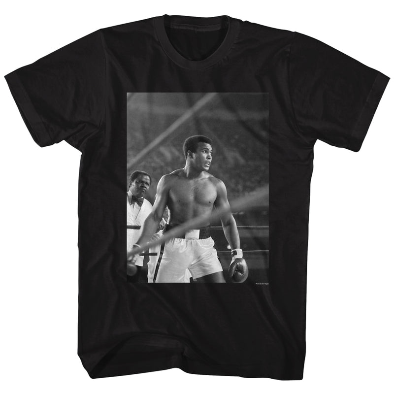 Muhammad Ali - Look Ahead Men's Shirt, Black