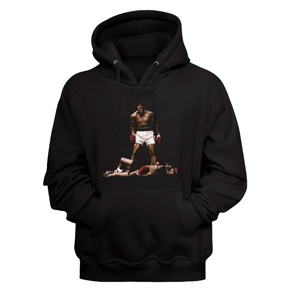 Muhammad Ali - Over And Over Men's Hoodie, Black